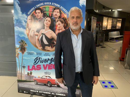 VINCENT RIOTTA, STAR DEL CINEMA NEL FILM DIVORZIO A LAS VEGAS