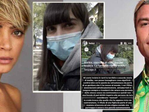 Malika cacciata di casa perché gay: Elodie e Fedez a sostegno della campagna. Raccolti oltre 30 mila €