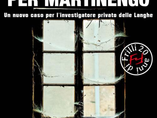 """E' disponibile in libreria """" Panni sporchi per Martinengo """", il romanzo noir dello scrittore astigiano Fabrizio Borgio"""