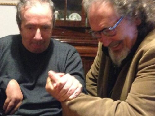 Francesco Nuti compie 66 anni: gli auguri del suo amico Enzo Brogi