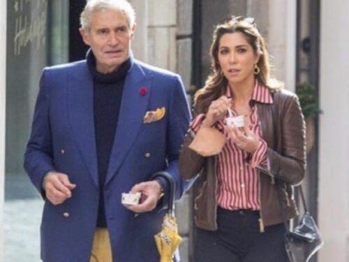 Michael Nouri a Roma , la star di Hollywood di Flashdance rivede l'amica Eleonora Pieroni