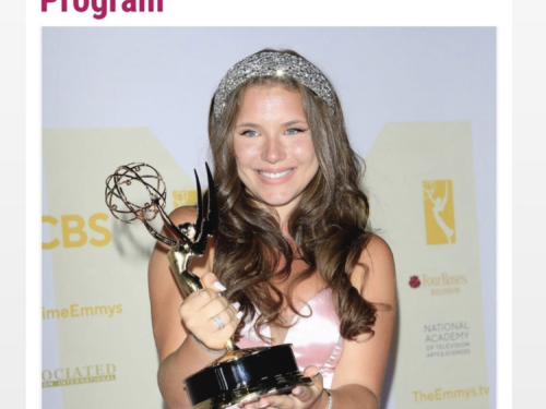 Chiara D'Ambrosio,  ha vinto Daytime Emmy Award 2021 come miglior giovane attrice di fiction