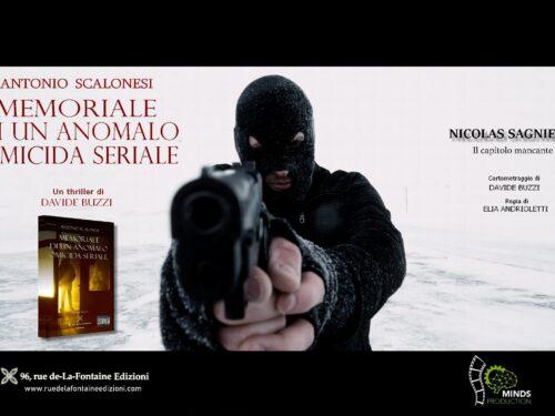 Il memorale di Antonio Scalonesi finalista al Booktrailer Film Festival 2021 di Milano