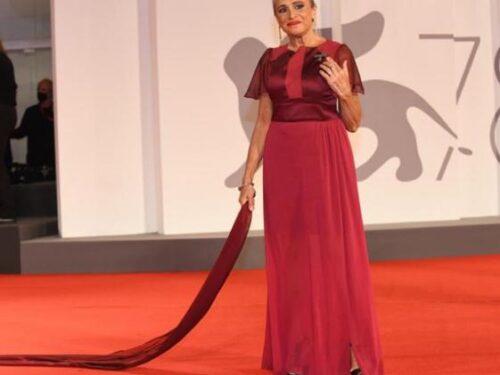 Guia Jelo a Venezia per Lupo Bianco : momento d'oro per l'attrice siciliana